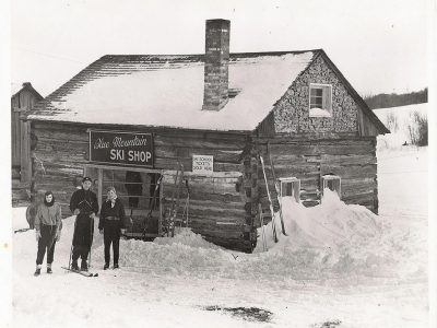 From Sheep Barn to Ski Shop