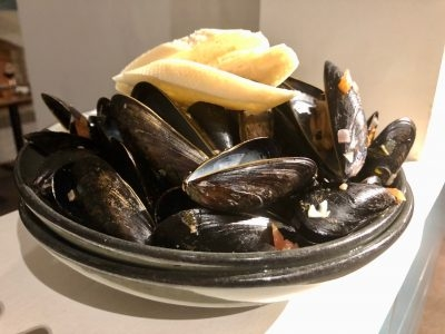 All You Can Eat Mussels at The Pottery Restaurant every Tuesday!